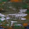 Abstrakte malerei, Abstrakter expressionismus, Weisse kleckse, Informel