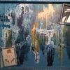 Abstrakt, Vertrauen, Blau, Malerei