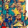 Tarotmotiv, Zeichnung, Mischtechnik, Digitale kunst