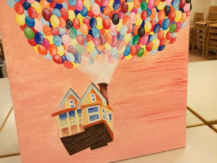 Ballon, Kinderfilm, Malerei,