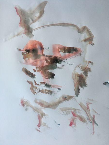 Gemälde, Portrait, Malerei, Abstrakt,