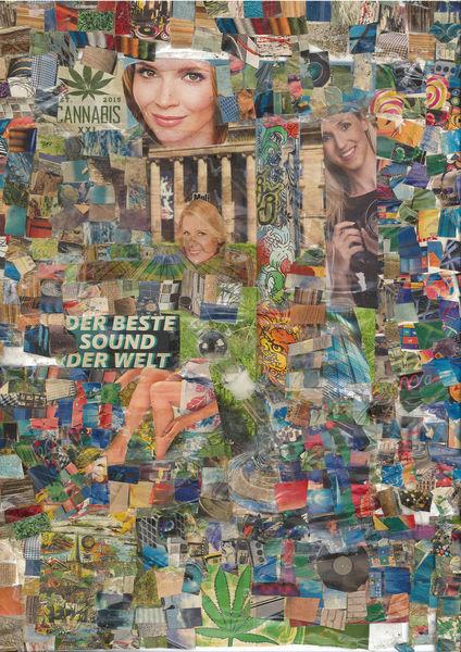 Bunt, Musik, Kino, Tv, Collage, Farben