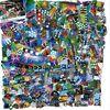 Bunt, Farben, Collage, Techno