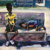 Acrylmalerei, Kinder, Menschen, Malerei