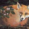 Natur, Malerei, Acrylmalerei, Tiere