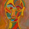 Malerei, Blau, Bunt, Abstrakt