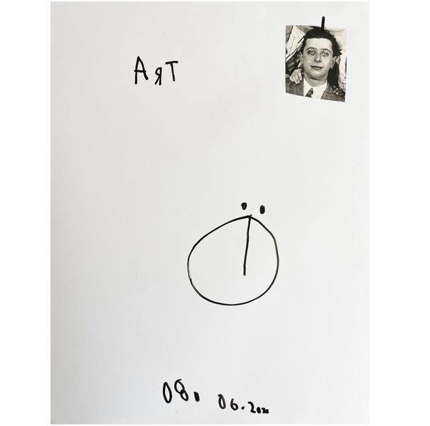 Sketchbook art löchle, Skizze, Skizzenbuch, Mischtechnik