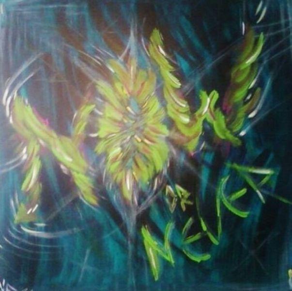 Acrylmalerei, Mischtechnik, Malerei acryl, Malerei