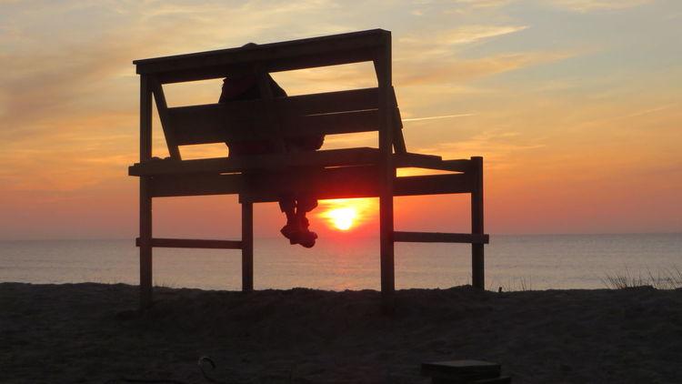 Strand, Sonnenuntergang, Meer, Fotografie