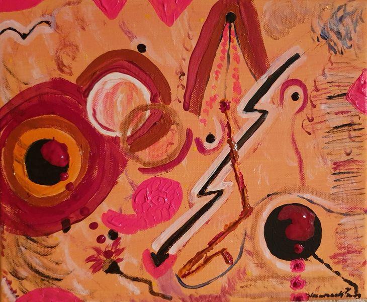 Stimmung, Malerei, Abstrakt, Gefühlschaos, Termin
