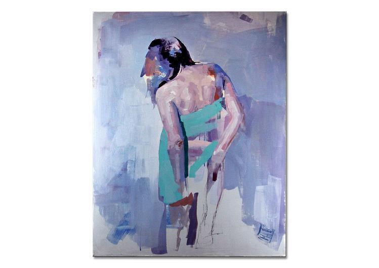 Atelier, Akt, Malerei modern, Abstrakt, Modern, Malerei acrylmalerei