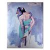 Aktmalerei, Modern art, Portrait, Frau