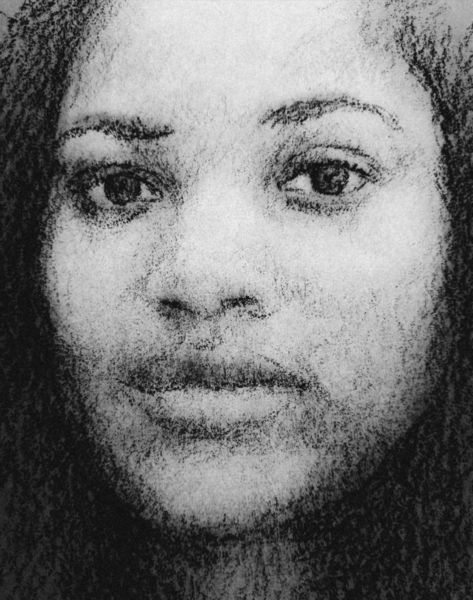 Frau, Gesicht, Augen, Zeichnungen, Portrait