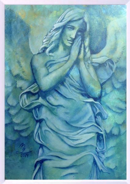 Hoffnung, Geschenk, Engel, Schutzengel, Frau, Flügel