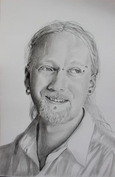 Bleistiftzeichnung, Portrait, Junger mann, Zeichnungen, Gedenken, Bruder