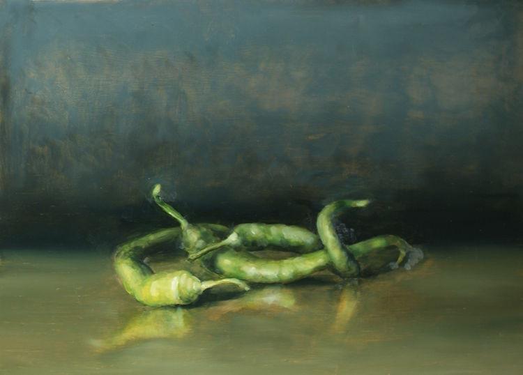 Ölmalerei, Alla prima, Malerei, Stillleben