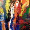 Acrylmalerei, Komplementär, Harmonie, Kontrast