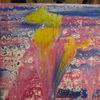 Modern art, Abstrakt, Farben, Mischtechnik