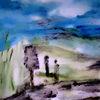 Landschaft, Natur, Menschen, Malerei