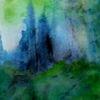 Blau, Grün, Natur, Malerei