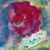 Pfingsten, Blumen, Rose, Malerei