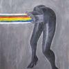 Malerei, Grafik, Abstrakt, Mischtechnik