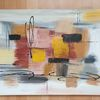 Modern, Acrylmalerei, Abstrakt, Malerei