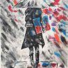 Farben, Acrylmalerei, Frau, Malerei