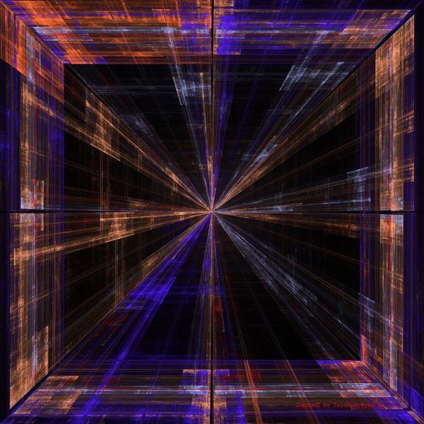 Farben, Quadrat, Abstrakt, Fluchtpunkt, Universum, Energie