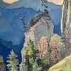 Berge, Ölmalerei, Verschollen, Naila