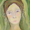 Grün, Augen, Malerei