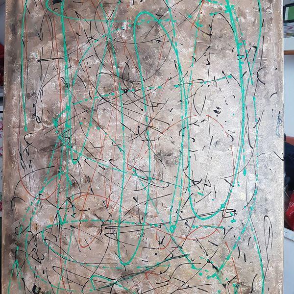 Malerei, Abstrakte kunst, Acrylpainting, Gemälde, Acrylmalerei