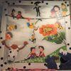 Wandbilder, Wandbild, Ölmalerei, Kindheit