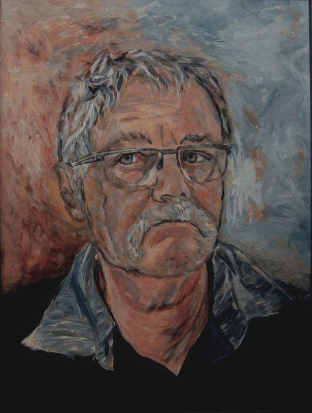 Mann, Malerei, Acrylmalerei