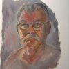 Ölmalerei, Malerei, Mann, Skizze