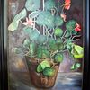 Pflanzen, Malerei, Kresse