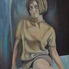 Frau, Menschen, Malerei