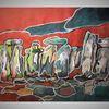 Stonehenge, Freie, Malerei