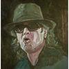 Portrait, Musiker, Malerei,