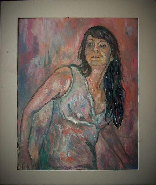 Tanz, Malerei, Rosa