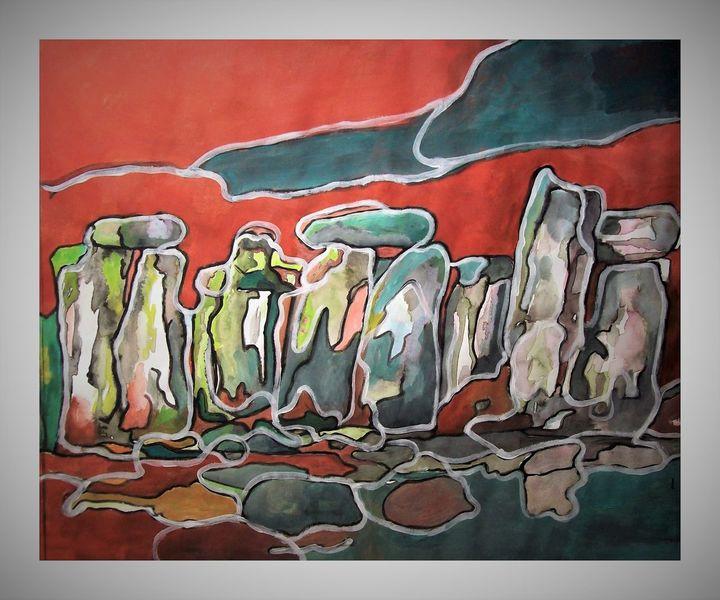 Freie, Malerei, Stonehenge