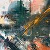 Farben, Abstrakt, Acrylmalerei, Modern art