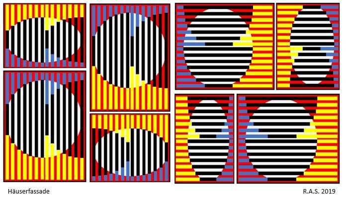 Kreisringe, Kreis, Konkrete kunst, Kugel, Malerei