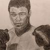 Menschen, Boxer, Zeichnungen,