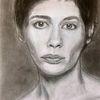 Frau, Melancholie, Bleistiftzeichnung, Zeichnungen