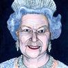 Elisabeth, Königin von england, Krone, Malerei