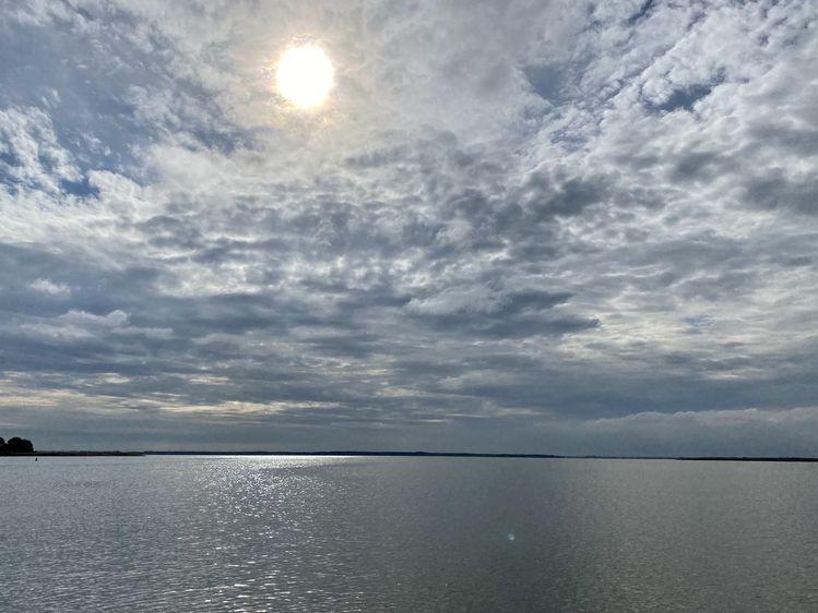 Himmel, Stimmung, Wasser, Fotografie, Bodden