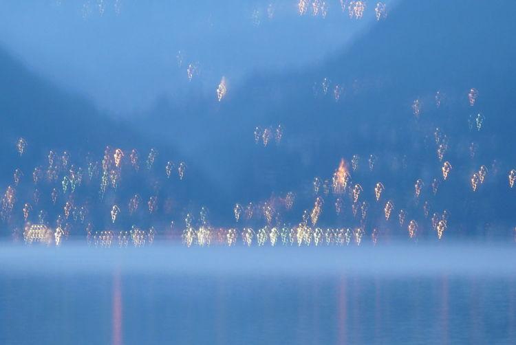Abend, Licht, Ufer, Fotografie