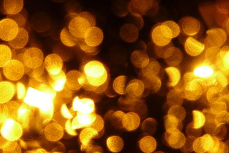 Gold, Nacht, Reflexion, Fotografie
