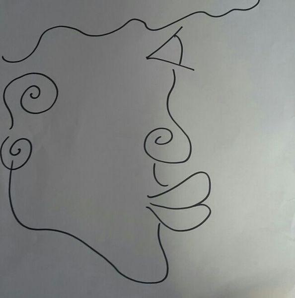 Gesicht, Kopf, Profil, Lippen, Zeichnungen